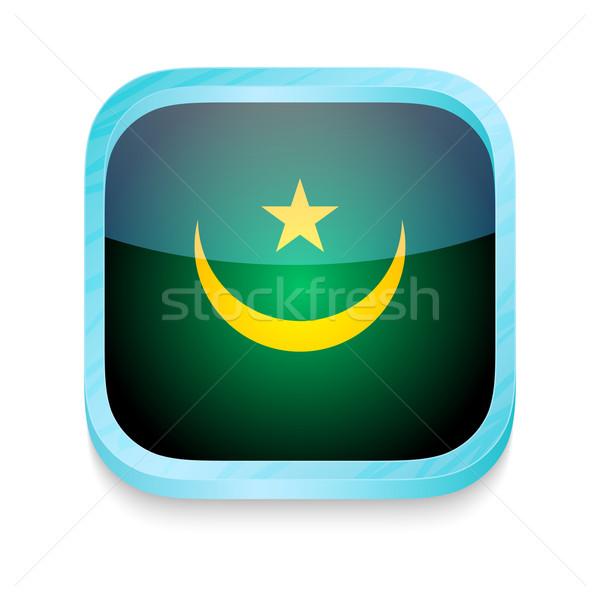 スマートフォン ボタン モーリタニア フラグ 電話 フレーム ストックフォト © lirch