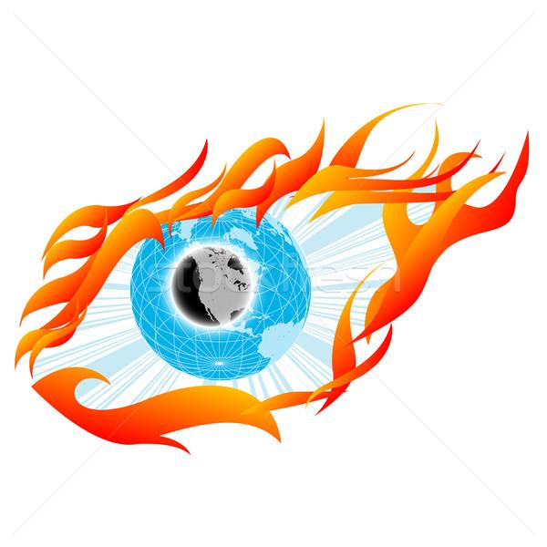 Eye sketch Stock photo © lirch