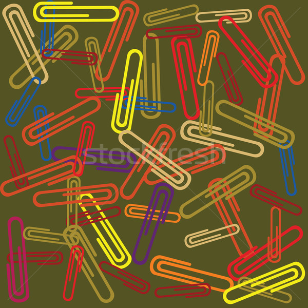 paperclips Stock photo © lirch