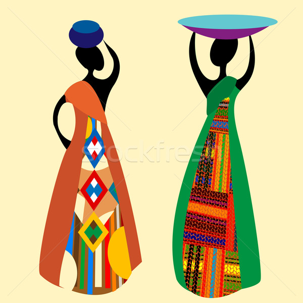 Traditional african Stock photo © lirch