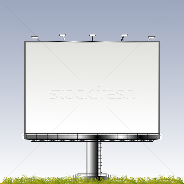 Grand outdoor billboard Stock photo © lirch