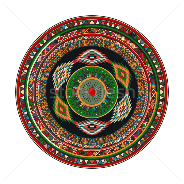 Aztec mandala Stock photo © lirch
