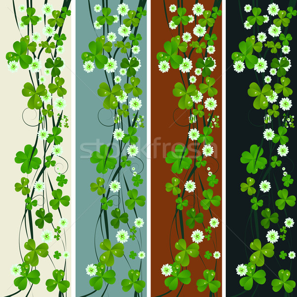 Vertical headers with St. Patrick Stock photo © lirch