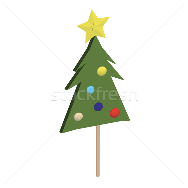 Christmas tree lolipop Stock photo © lirch