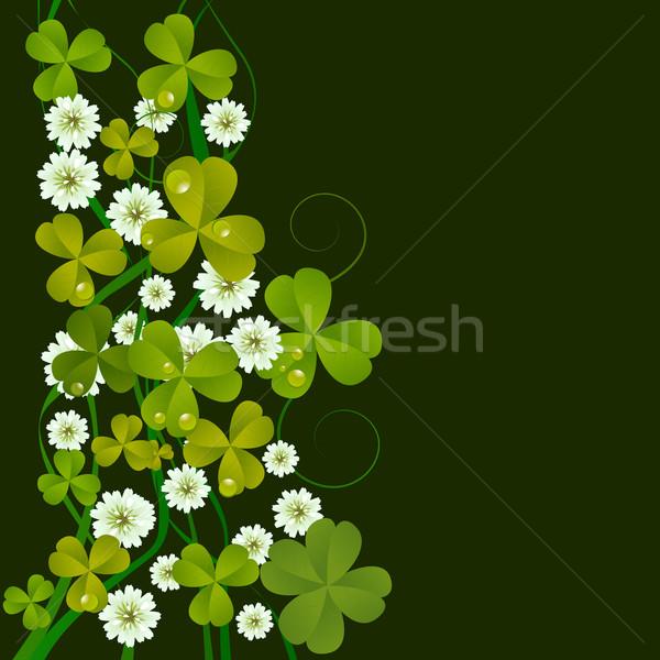 St. Patrick's Day card Stock photo © lirch