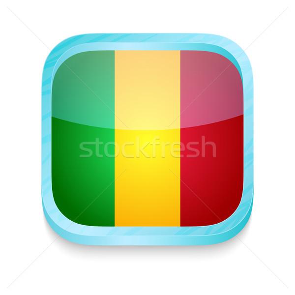 кнопки Мали флаг телефон кадр Сток-фото © lirch