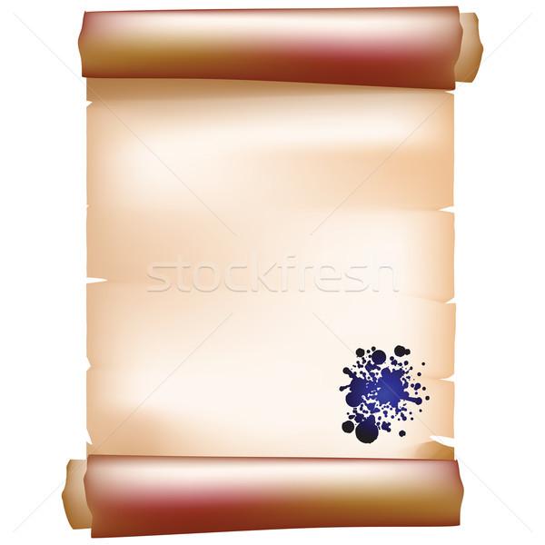 paper scroll Stock photo © lirch