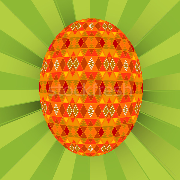 Colored egg background Stock photo © lirch