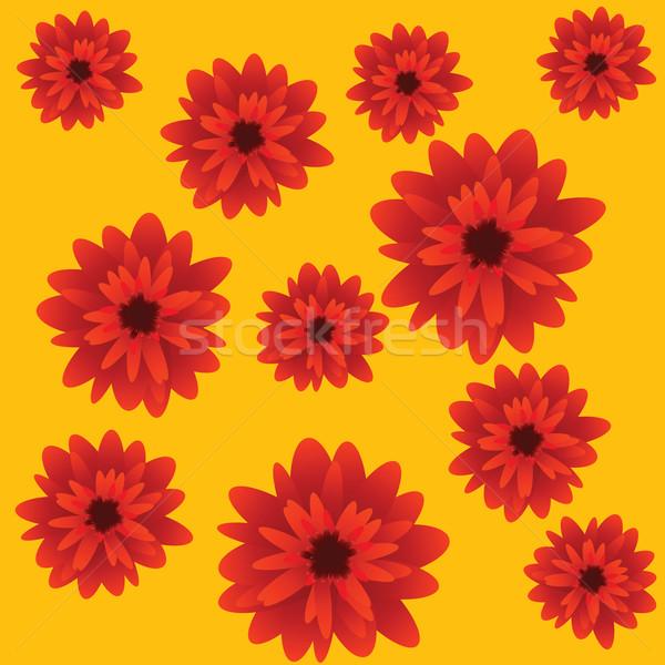 red flowers Stock photo © lirch