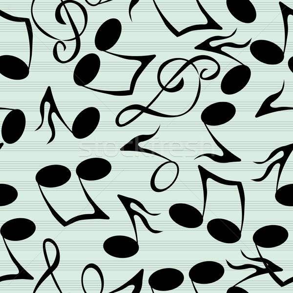 Musical notes pattern Stock photo © lirch