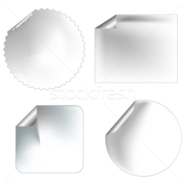blanc stickers/labels Stock photo © lirch