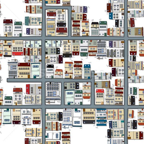 Neighbourhood pattern Stock photo © lirch