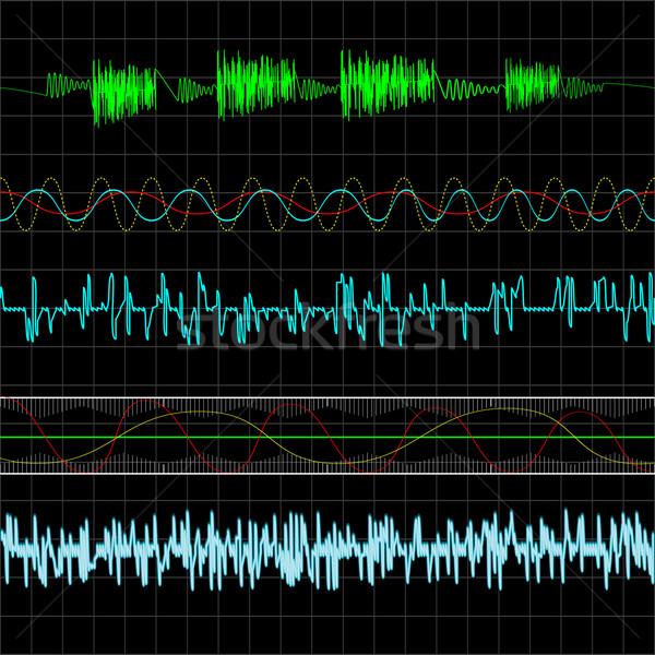 Music waves Stock photo © lirch