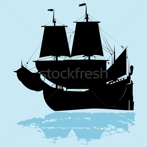 Old ship Stock photo © lirch