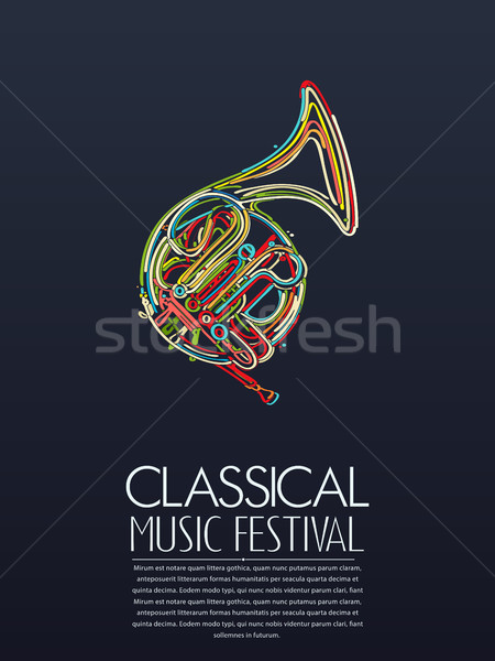 Classical music event Stock photo © lirch