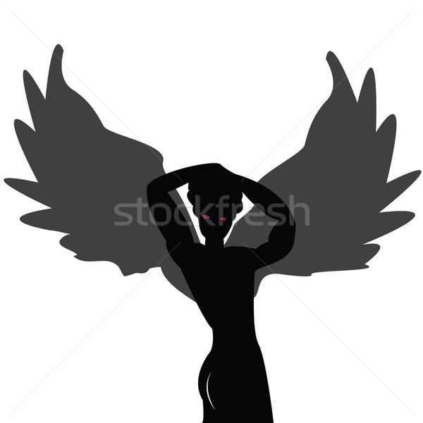 Posing angel Stock photo © lirch