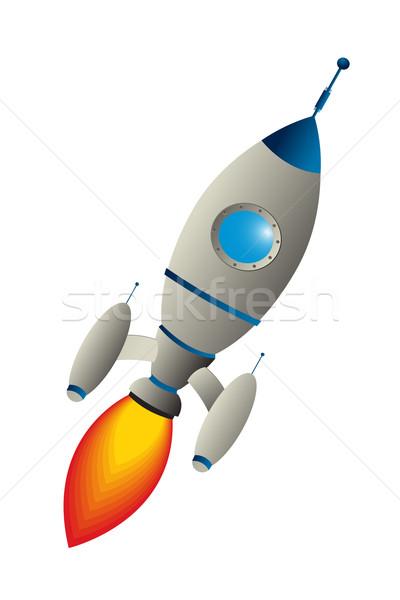 Clip art rocket Stock photo © lirch