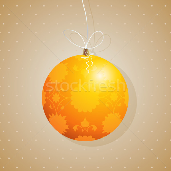 Tree decoration card Stock photo © lirch