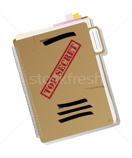 Top secret folder Stock photo © lirch