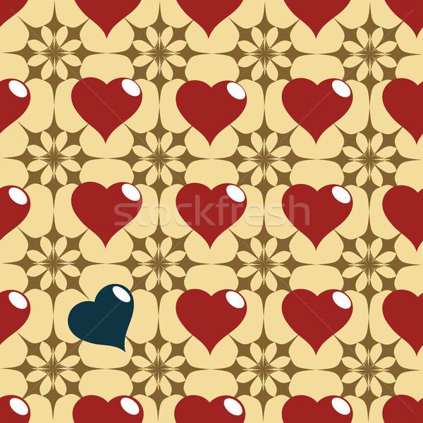 hearth pattern Stock photo © lirch