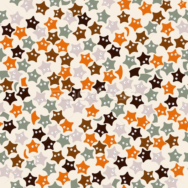 Starfish pattern Stock photo © lirch