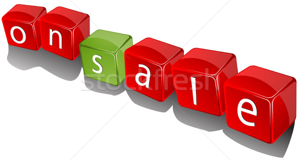on sale cubes Stock photo © lirch