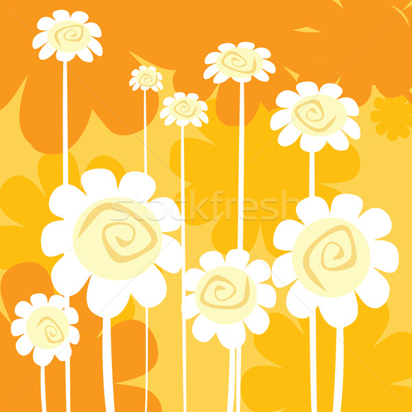 art deco floral card Stock photo © lirch