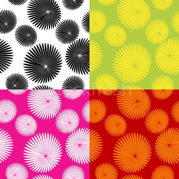 Floral motif pattern Stock photo © lirch