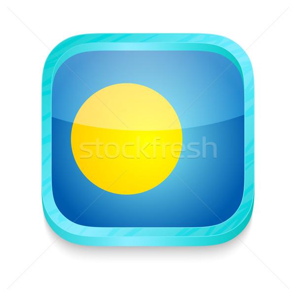 スマートフォン ボタン パラオ フラグ 電話 フレーム ストックフォト © lirch