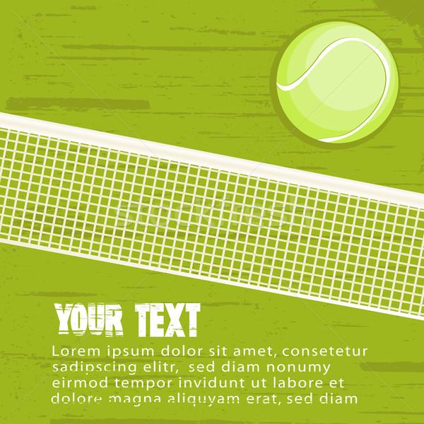 Stock fotó: Grunge · tenisz · teniszlabda · hely · fitnessz · egészség