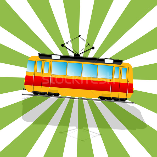 Stock photo: The fantastic Tramcar