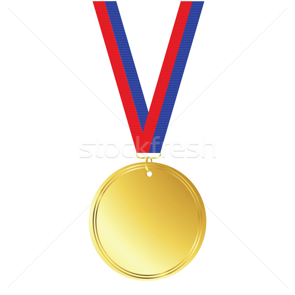 gold medal Stock photo © lirch