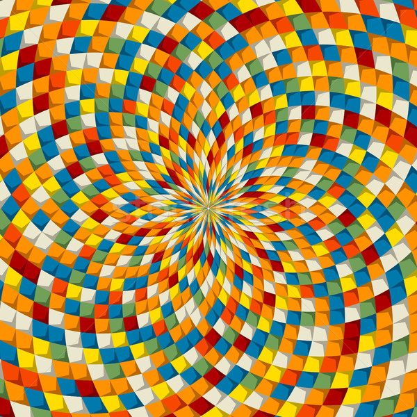 Colored mosaic vector Stock photo © lirch