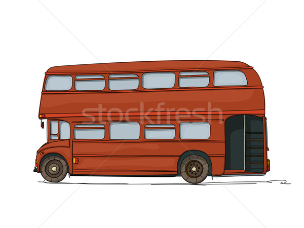 Double decker bus Stock photo © lirch