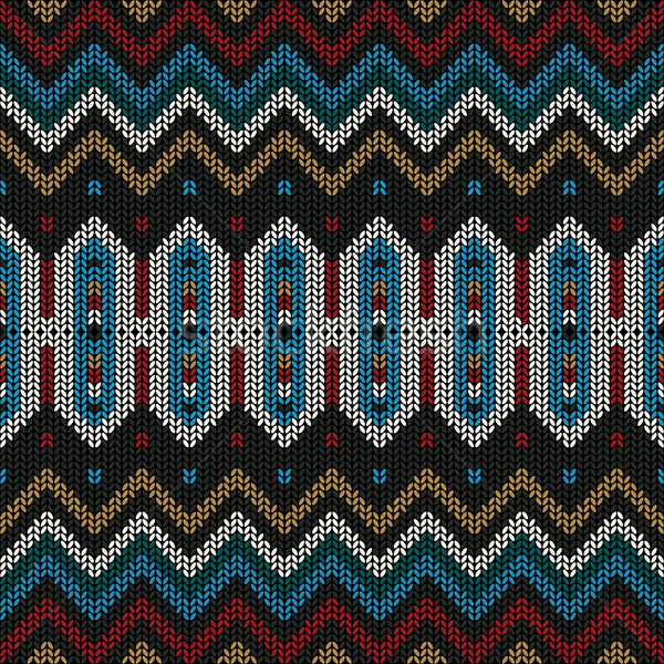 Ornamental knitted pattern Stock photo © lirch