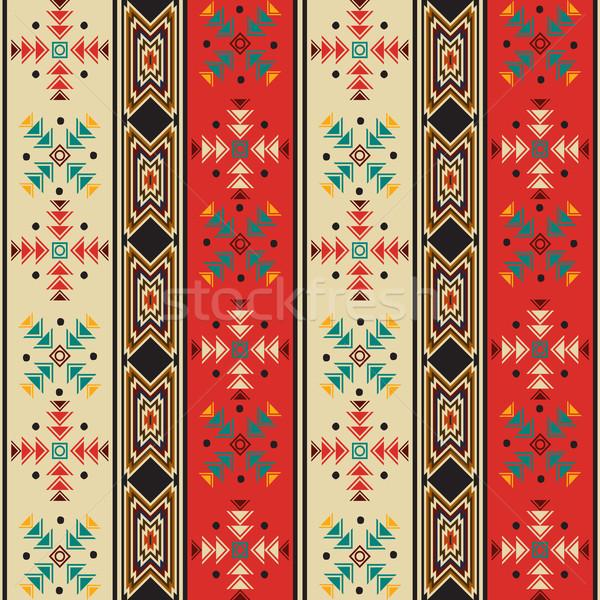 Navajo style pattern Stock photo © lirch