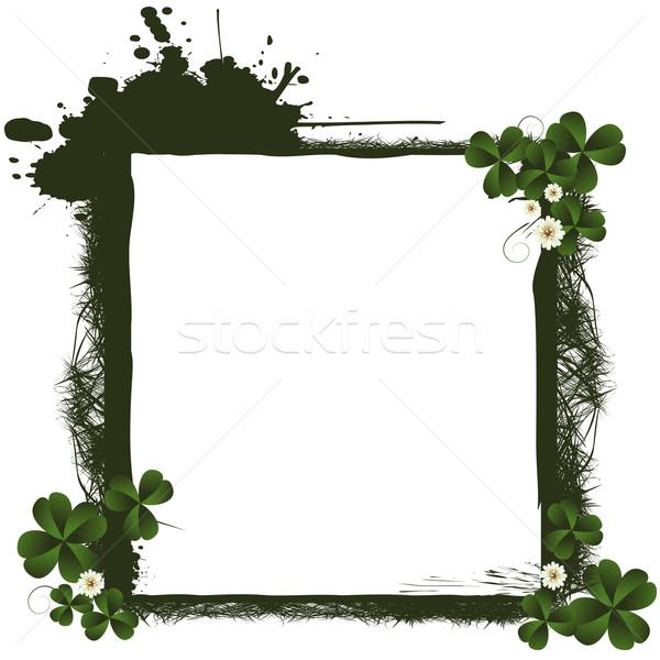 St. Patrick's Day frame Stock photo © lirch