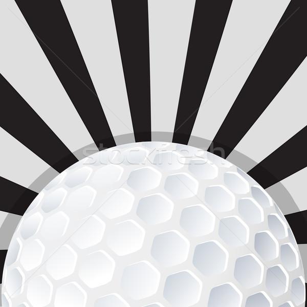 Golfball ícone projeto esportes esportes bola Foto stock © lirch