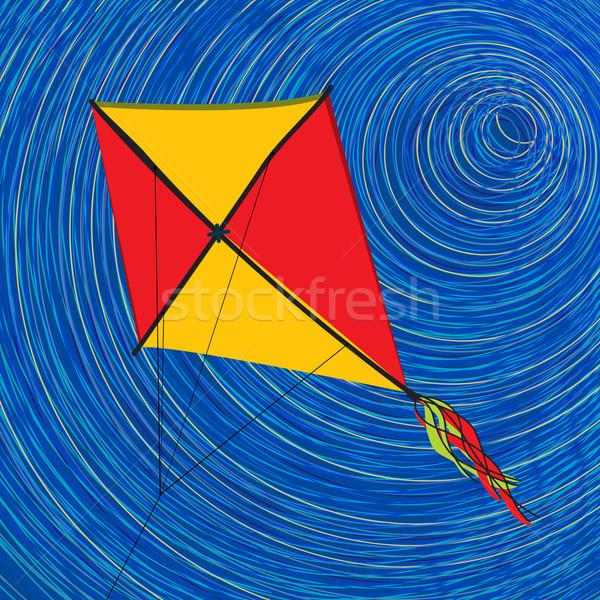 Graphic kite Stock photo © lirch