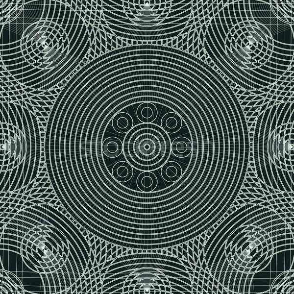 Lace decorative tile Stock photo © lirch