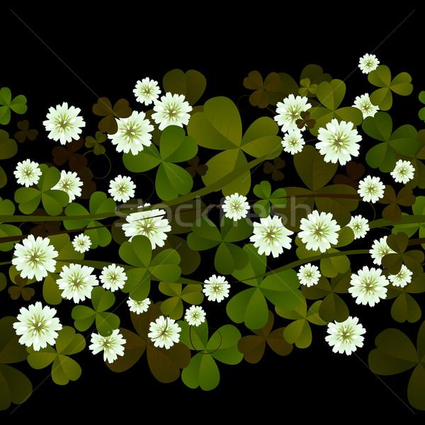 A seamless clover design Stock photo © lirch