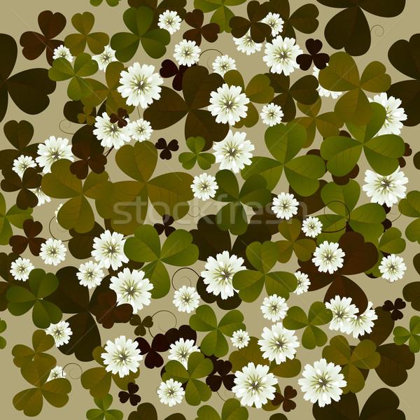 Floral modèle carrelage saint fond Photo stock © lirch