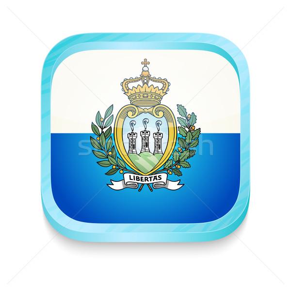 кнопки Сан-Марино флаг телефон кадр Сток-фото © lirch