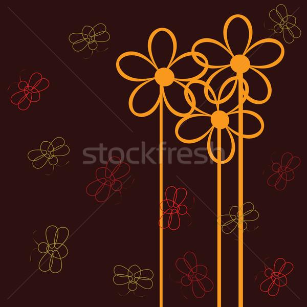 Erros flores flor jardim verão jovem Foto stock © lirch