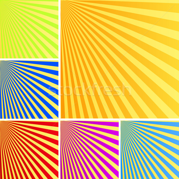 Rays backgrounds Stock photo © lirch