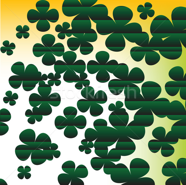Four leaves clover background Stock photo © lirch