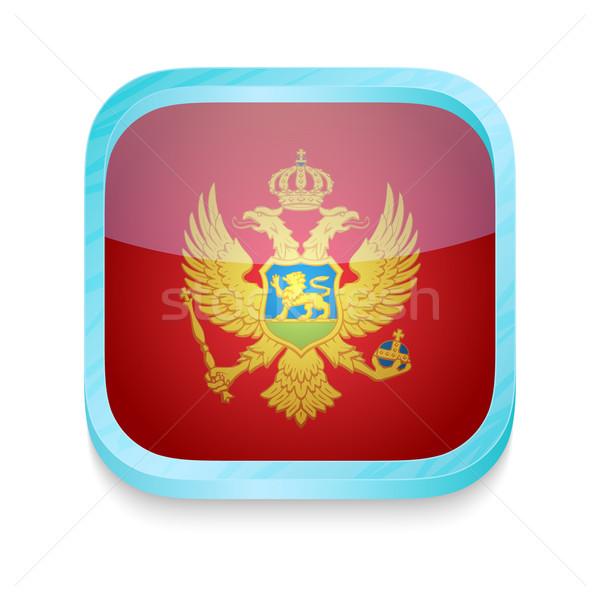 кнопки Черногория флаг телефон кадр Сток-фото © lirch