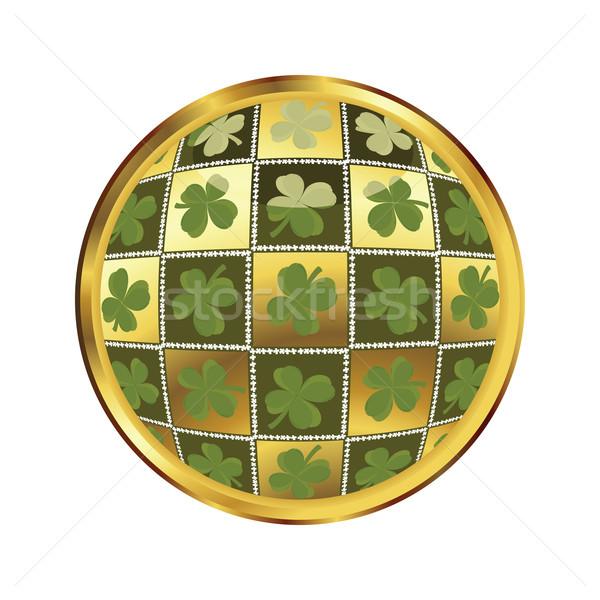 st. Patrick's day button Stock photo © lirch