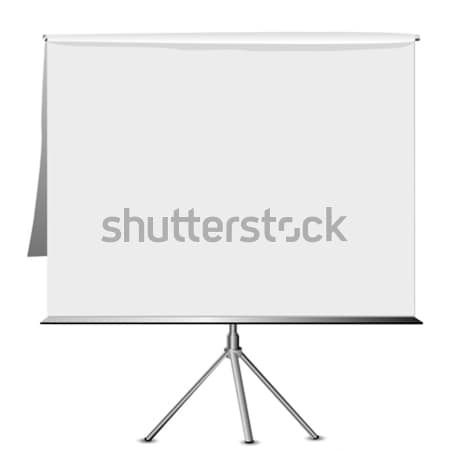 flip chart Stock photo © lirch