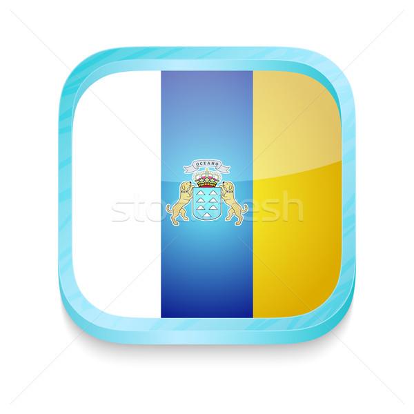 кнопки Канарские острова флаг телефон кадр Сток-фото © lirch